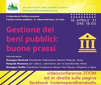 ALBEROBELLO - Incontro sui beni pubblici