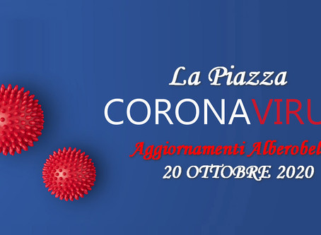 ALBEROBELLO - Aggiornamento (conferenza stampa del sindaco Longo ore 12.00)