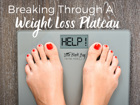 Hitting a weight loss plateau?