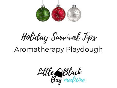 DIY Aromatherapy Playdough