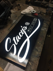 STACYS BACK ALLEY SIGN
