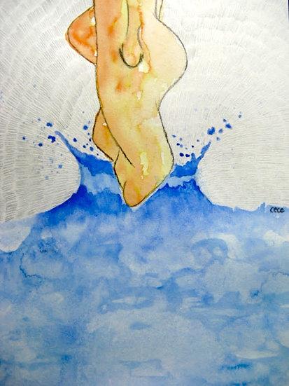 Bagno di serenità (serie della Donna)