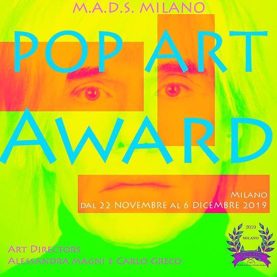 POP ART AWARD
