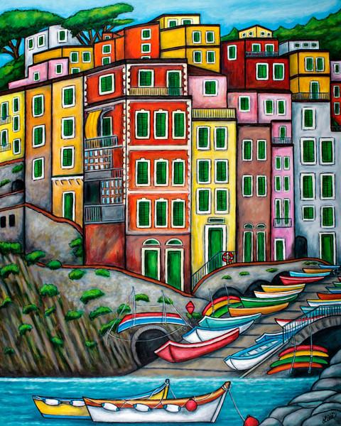 Colors of Riomaggiore, 5 Terre