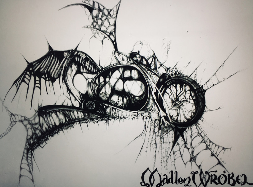 A kobold & a motorcycle