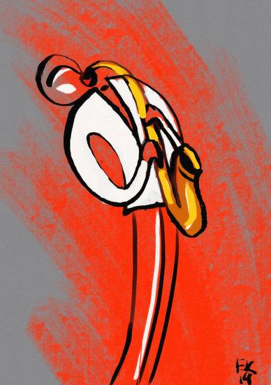 Saxophonist S
