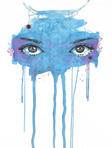 Choose your Mask, blue