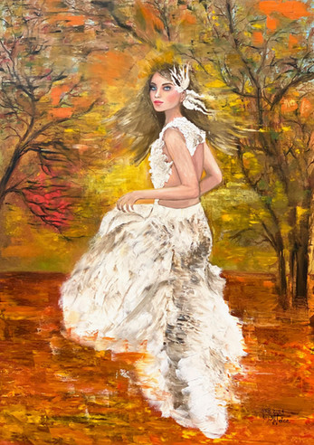 Running Towards Autumn