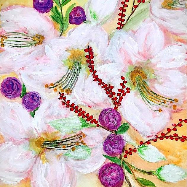 Amaryllis Flower Bouquet