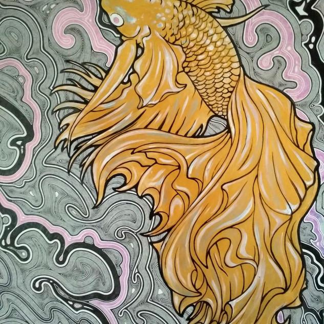 Warrior fish