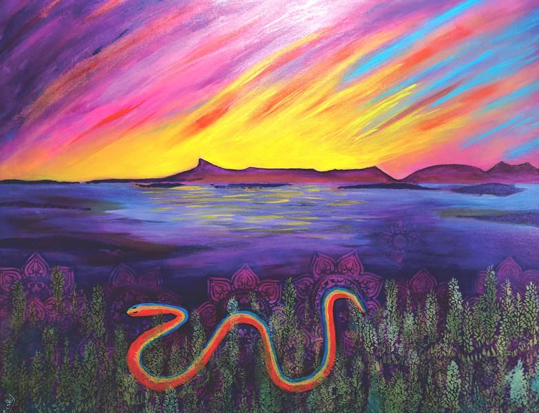 Rainbow Serpent Shakti