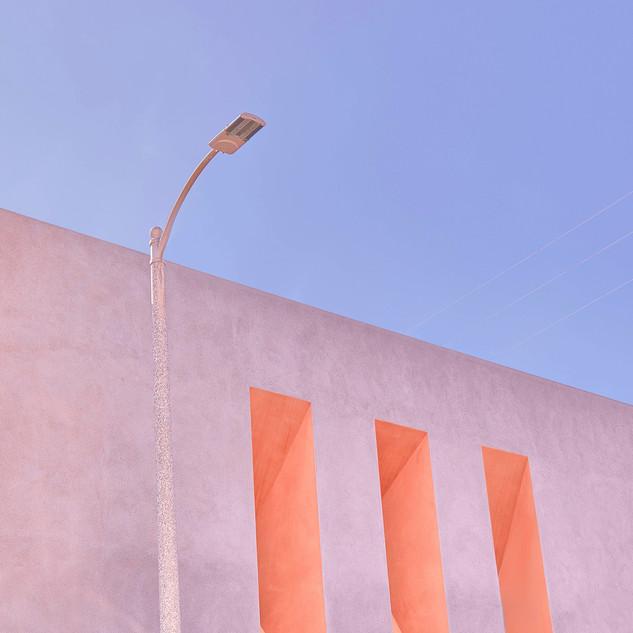 Ornage-Geometric-Windows