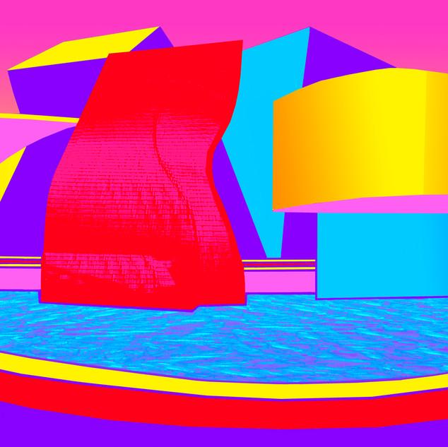 Bilbao in Technicolor