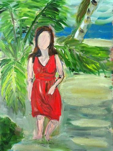 Rojo en la Playa
