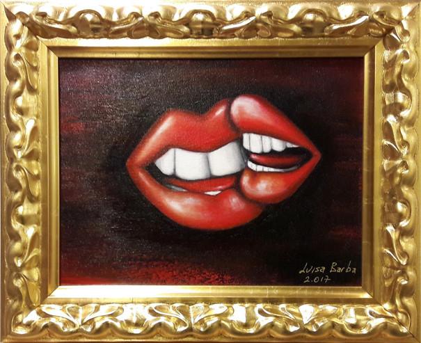 Pair of lips