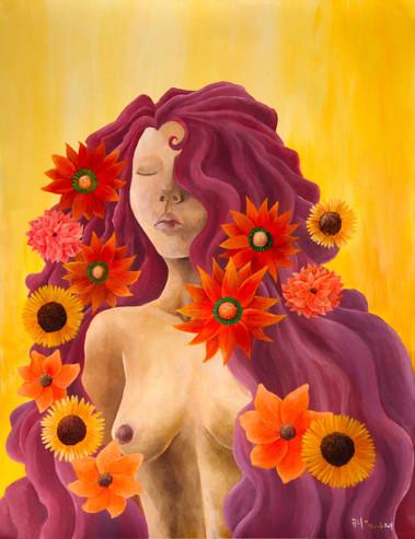 Déesse des Fleures