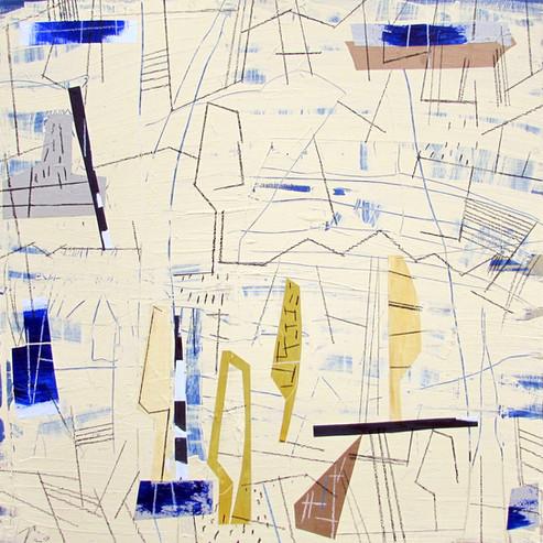 Compositional arrangement to create a landscape