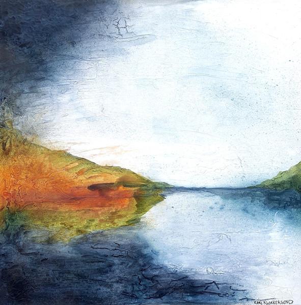 Autumn Abstract Landscape