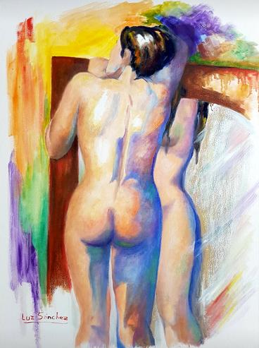 La chica del espejo