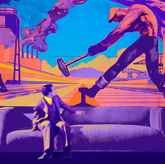 Deco mural