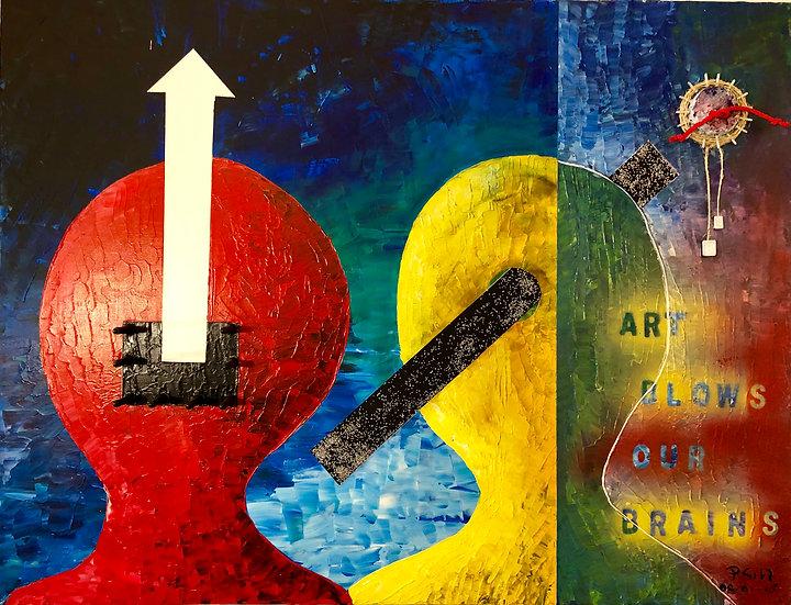 Art blows our brains