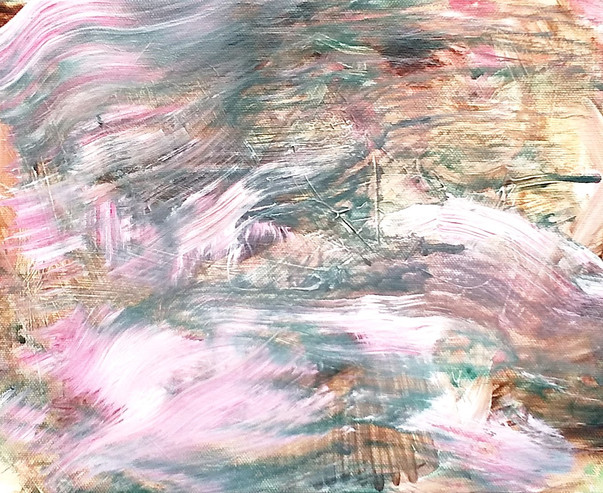 Reclaimed land - Pink