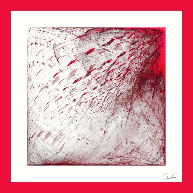 Triptico en rojo (Triptych in red)