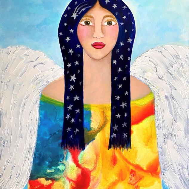 Angel de alas Blancas