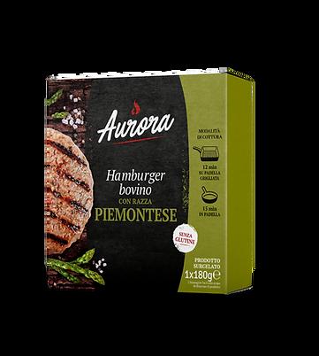 ra Hamburger di bovino con razza piemontese