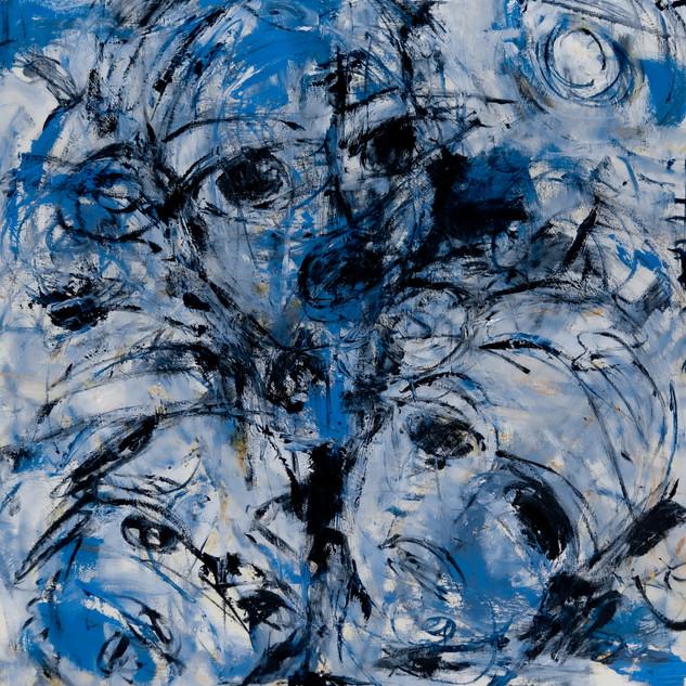 Blue Faces