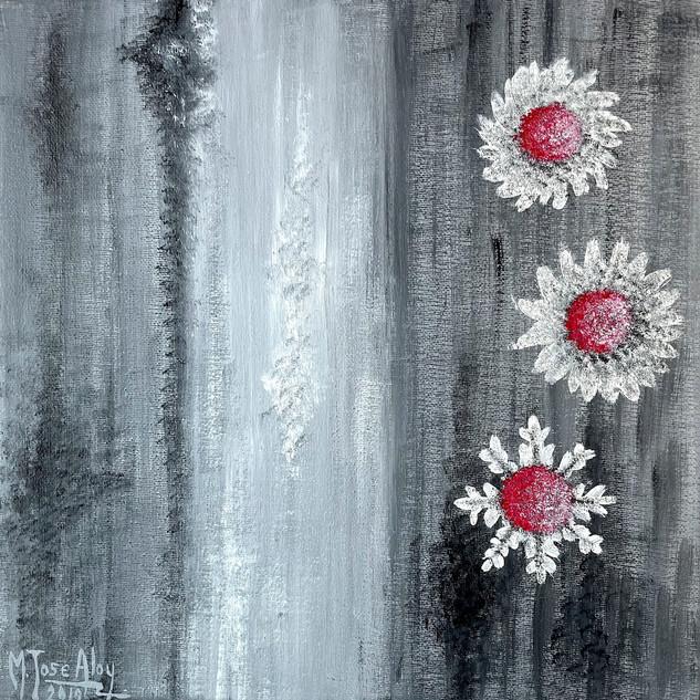 Flores en la niebla