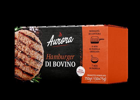 Aurora Hamburger di bovino