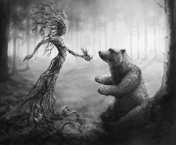 Bear Gets Its Claws
