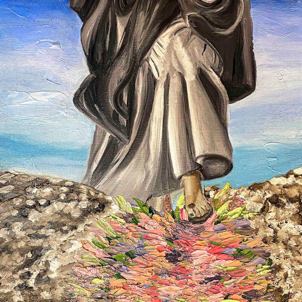 Flowers at God's Feet