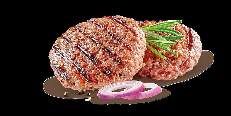 Hamburger con cipolla