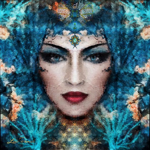Blue Goddess of Nature