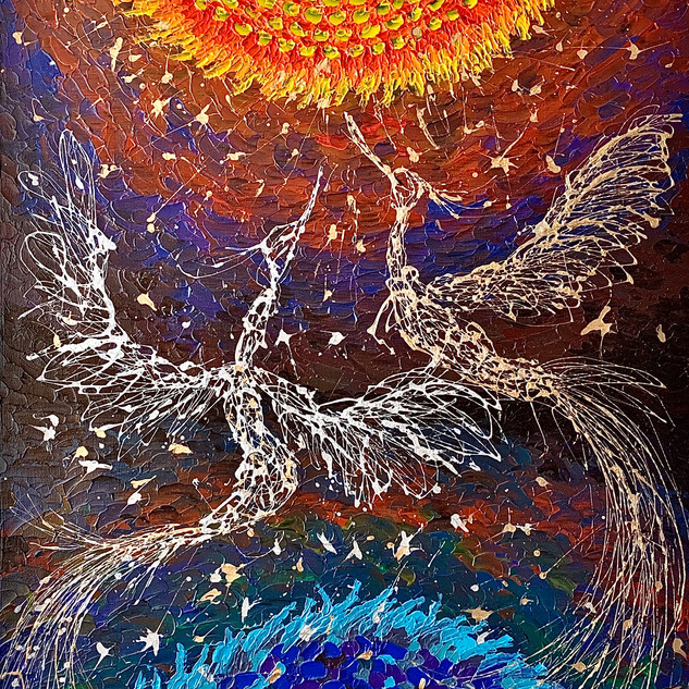 The Moment of life and the Phoenix