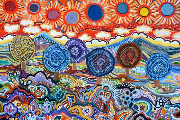 Corona time paintings