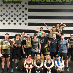 Memorial Day Murph was performed with honor and dedication to our military members who paid the ulti