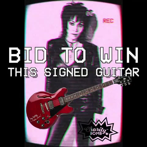 Joan Jett Auction