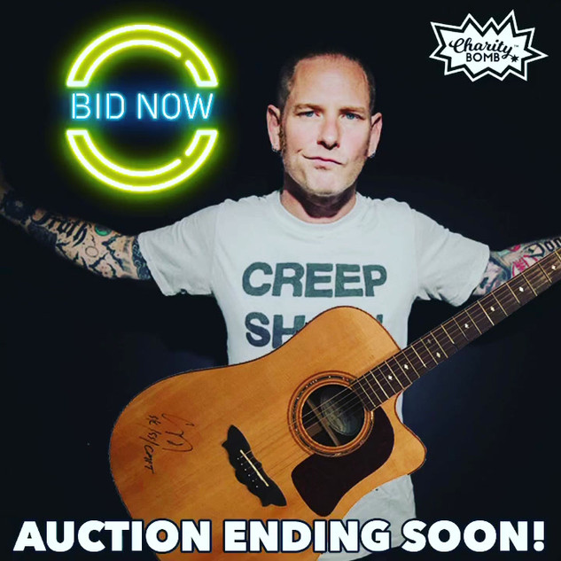 Corey Taylor Auction