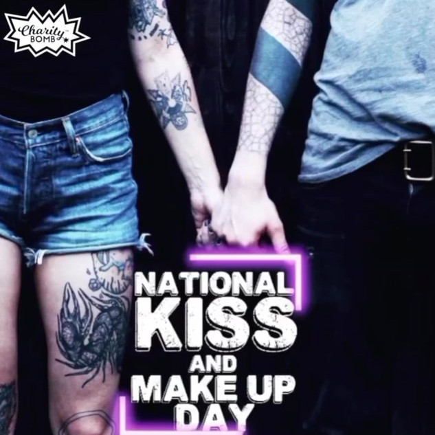 National Kiss and Makeup Day