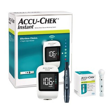 Accu-Chek Instant Meter (MMOL)+50s Strip