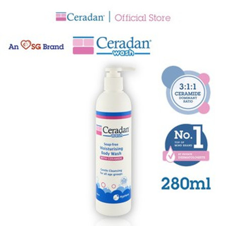 Ceradan® Moisturising Wash (280ml)