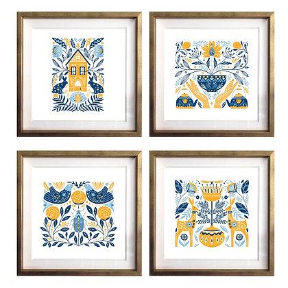 Folclor escandinavo (4 diseños disponibles) / Desde 20.000 c/u