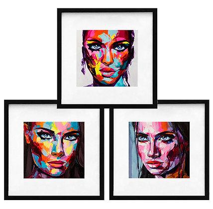 Retratos color (3 diseños disponibles) / Desde 20.000 c/u