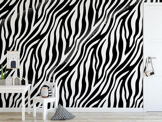 Papel Mural cebra