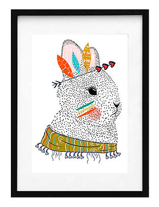 Conejo con plumas / Desde 23.000