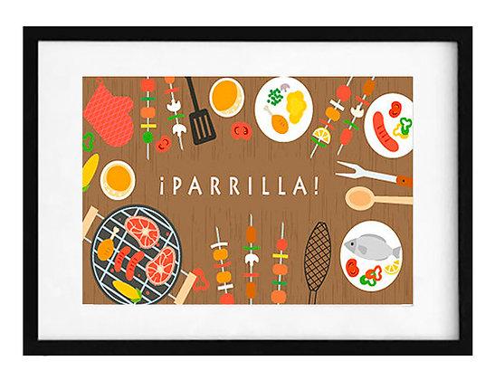 Parrilla / Desde 23.000