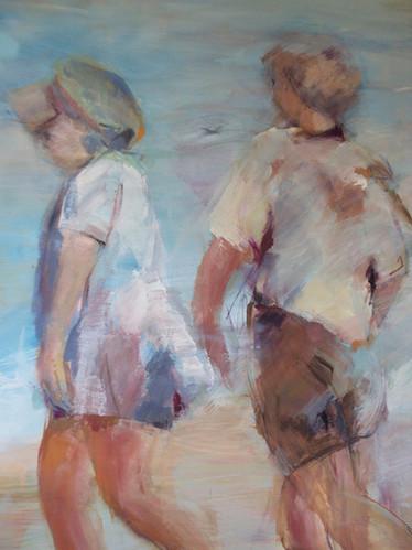 Niños en la Playa II